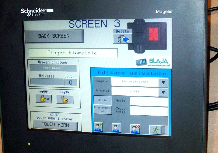 XB5S5 biometric Schneider Electric