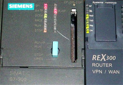 REX300 router k Simatic S7
