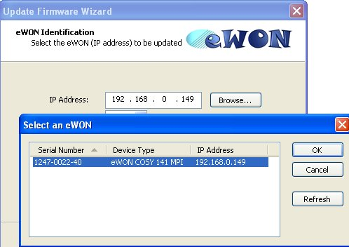 eWON Cosy and web server S7-1200