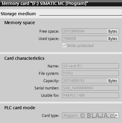 Transfer data MC card to S7-1200