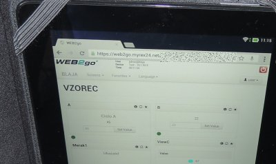 Android tablet and Toolbox Helmholz