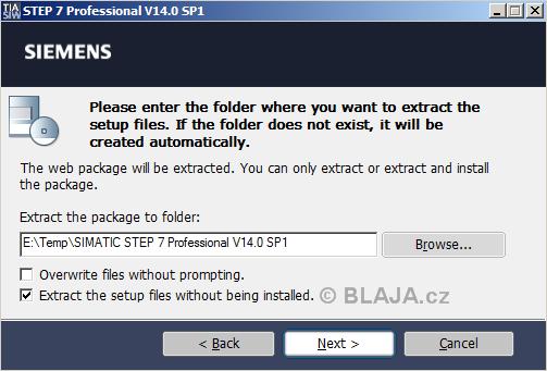 TIA Portal V14 SP1 download a instalace do Windows 7