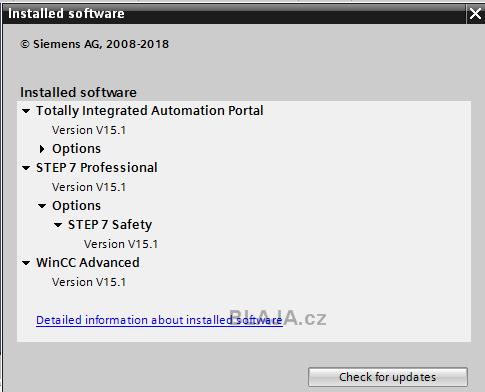 Instalace TIA Portal V15 1 a upgrade projektu V15 to V15 1