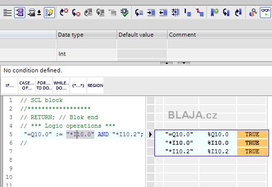 TIA Portal - SCL programování PLC, part 1