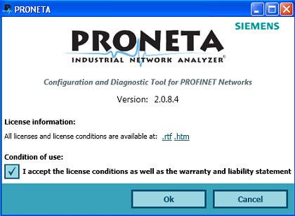 PRONETA for PROFINET