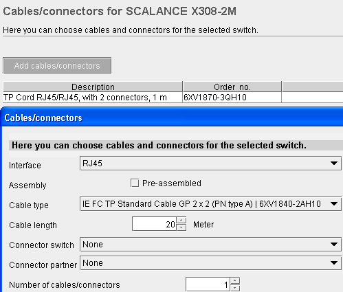 Simatic NET Selection Tool online