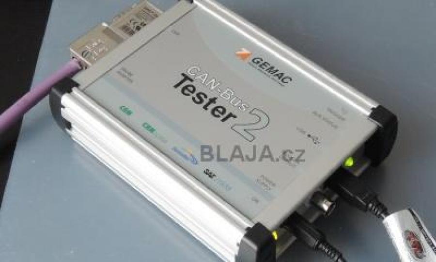 Tester pro sítě CANbus, CANopen, DeviceNet a SAE J1939