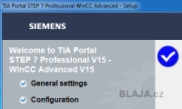 Instalace TIA Portal V15 STEP 7 and WinCC V15